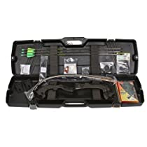 Martin Saber Takedown Bow Kit, 55-Pound, Black
