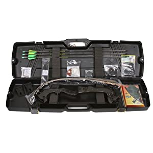 Buy Martin Saber Takedown Bow Kit, 35-Pound, Black by Martin Archery