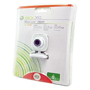 CET Domain 10200305 Xbox 360 Compatible Live Webcam Camera