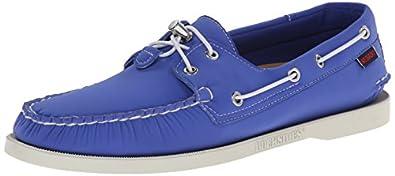 Sebago Men's Docksides Oxford, Blue Neoprene, 7 M US