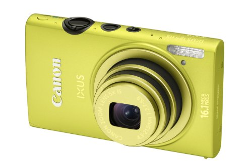 Canon IXUS 125 HS Digital Camera - Green (16.1MP, 5x Optical Zoom) 3.0 inch LCD