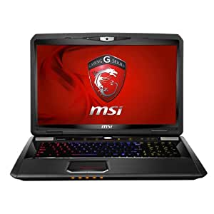 MSI GT70 0NC-002US 17.3-Inch HD, Intel Core i7-3610QM, nVidia GTX670M 3G, 12GB RAM, 750GB HDD, SuperMulti DVD, Windows 7 (Black)