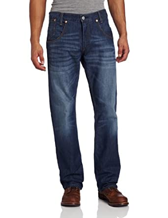 Levi's Men's 514 Straight Sunset Double Back Jean, Ultramarine, 34x29