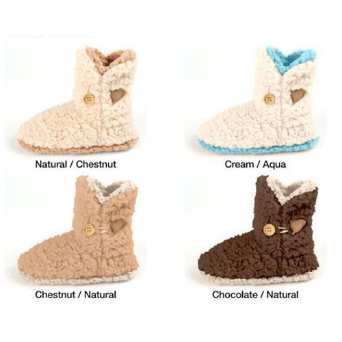 Cheap Snoozies i/o Earth Tone Fashion Slipper Boots (B006GDWFDK)