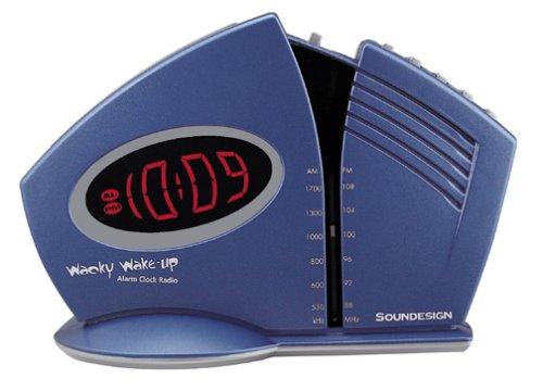 Soundesign 3633 Wacky Wake Up Alarm Clock Radio Manage