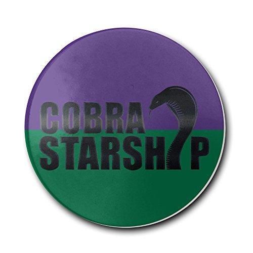 [DEMOO Cobra Logo Coasters] (Cobra Kai Costume For Sale)