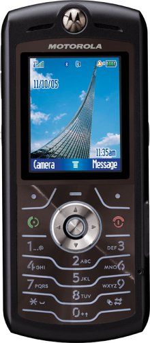 Motorola SLVR L7 Unlocked Cell Phone with MP3/Video Player, MicroSD Slot/TransFlash--International Version with No Warranty (Black)
