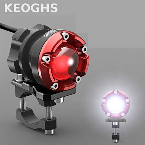 Keoghs Motorcycle Headlight/spotlight/lamp/auxiliary Light For Honda Cb190 Dirt Bike Yamaha Scooter Kawasaki Z1000