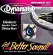 """Dynamat 10415 10"""" x 10"""" x 0.067"""" Thick Self-Adhesive Sound Deadener with Xtreme Speaker Kit - Pair"""