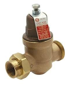 cash acme pressure regulating valve pipe fittings. Black Bedroom Furniture Sets. Home Design Ideas
