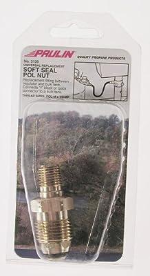 Humphrey Gas Products 3139 1/4Mpt Soft Seal Pol Nut