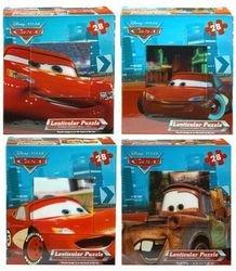 Disney Cars Lenticular Puzzle