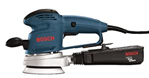 Bosch 3725DEVS 3.3 Amp 5-Inch Random Orbit Variable Speed Sander with Dust Canister