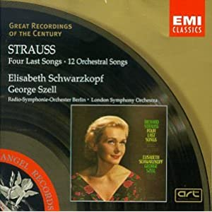 Amazon.com: Strauss: Four Last Songs / [12] Orchestral Songs ...