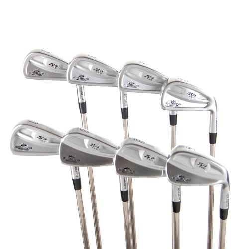 New Cobra S3 Pro Irons Cb/Mb 2I-Gw (No 5I Or Pw) R-Flex Steel Rh