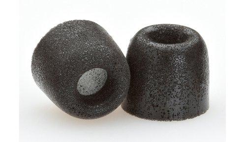 Comply Tx-200 Isolation Plus Earphone Tips (Black, 3 Pairs, Medium)