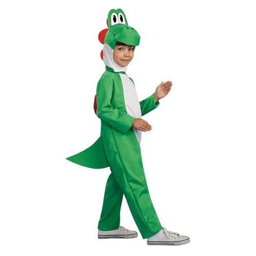 Kids Super Mario Bros Yoshi Halloween Costume (Medium (8 10)) ARRIVES BEFORE halloween GUARANTEED