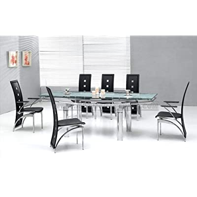 Dining Room+Dining Set+Furniture, Interior Design+Interior Furniture+Modern Gorgeous Design Dining Table with 6 Dining Chairs Set+Modern Gorgeous Design Dining Table with 6 Dining Chairs Set