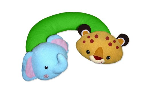 Fisher-Price Rainforest Nap Buddy Travel Pillow front-830270