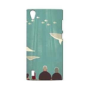 BLUEDIO Designer Printed Back case cover for VIVO Y15 / Y15S - G3601