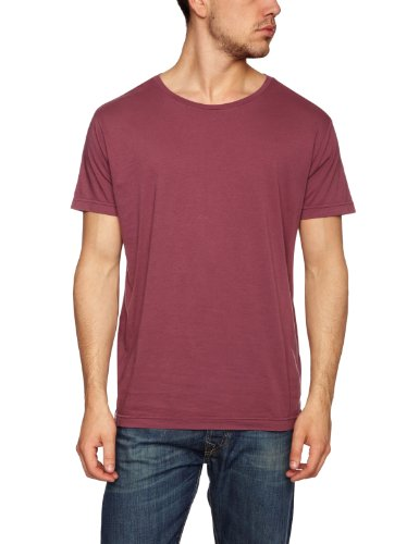 Quiksilver Big Plain Men's T-Shirt Eggplant Medium