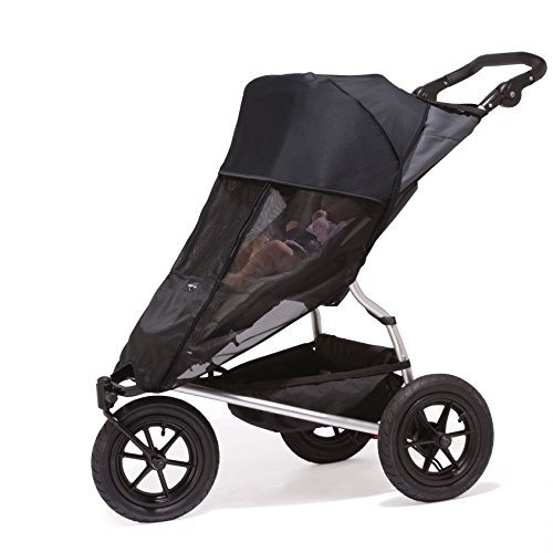Outlook Shade-A-Babe Buggy Sunshade Black/Black Trim - 1