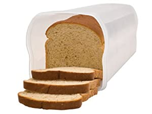 Rubbermaid Inc 3800-RD-WHT Giant Loaf Bread Keeper