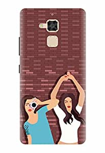 Noise Designer Printed Case / Cover for Asus ZenFone 3 Max ZC520TL / Animated Cartoons / Friends With Benefit Design