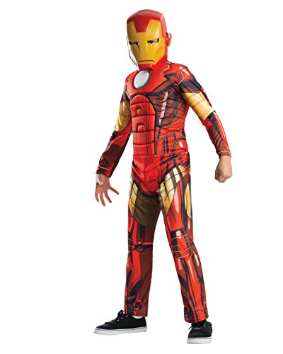 Avengers Assemble Deluxe Iron Man Kids Costume - Large (12-14)