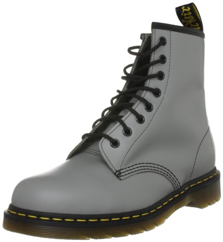 Dr. Martens Unisex 1460 Smooth Grey Lace Up Boot 10072026 5 UK