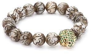 Borgioni Frog and Yak bone Bracelet