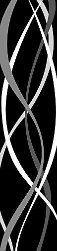 Retro Stripe - Wall Stripes vinile adesivo 47 x 204 cm - 3 teilig Beige dà una confezione di colla e una istruzioni per. Made in Germany.