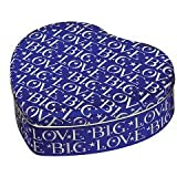 Emma Bridgewater Big Love Heart Tin - Blue