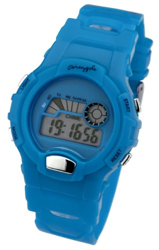 Pineapple Dance Studios Blue Digital Ladies Watch - BU61.15PI
