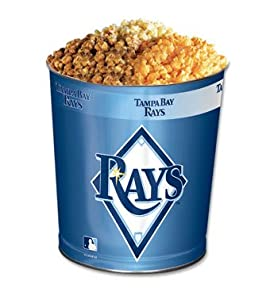 Tampa Bay Devil Rays 3-Way Popcorn Tins