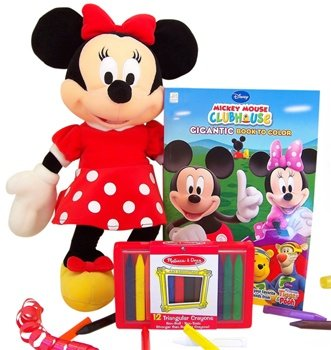 Disney Minnie Mouse Coloring Books Gift Set-Big Sister