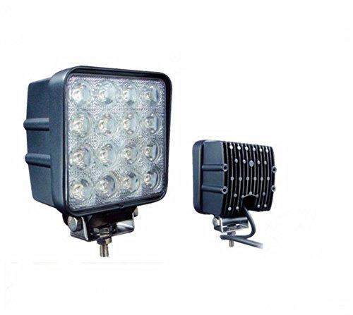 Generic Led Work Light 48W Flood Beam Driving Lamp