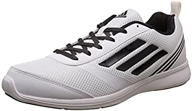 adidas Men's Adiray M Ftwwht and Utiblk Running Shoes - 10 UK/India (44.7 EU)