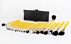 Bdellium Tools Professional Antibacterial Makeup Studio Line Luxury 24pc. Brush Set with Roll-Up Pouch