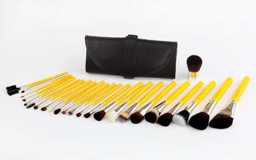 Luxury Comprehensive 24 Piece Antibacterial Makeup Brush Set – Studio Line thumbnail