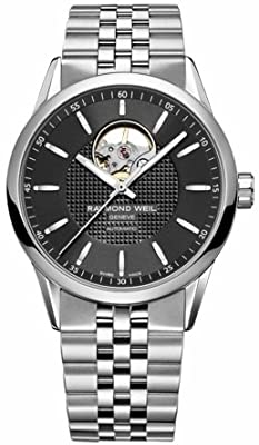Raymond Weil Freelancer Black Skeletal Dial Automatic Male Watch 2710-ST-20021