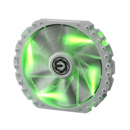 Bitfenix #Bff-Wpro-23030G-Rp Spectre Pro 230Mm Green Led Case Fan (White)