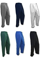 Andrew Scott Men's 6 Pack Cotton Knit Jersey Sleep Lounge Pants