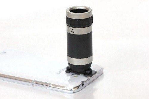 Goliton® Transparent U-Shaped Buckle Optical 8X Zoom Telephoto Telescope Camera Lens For Apple Iphone4/Iphone 4S