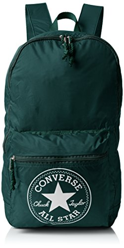Converse Ct Packable Ny Season Zaino, Unisex Adulto, Verde, 43X28X18