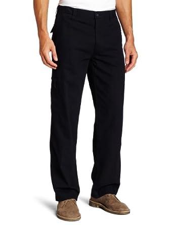 Dockers Men's Comfort Cargo D3 Classic Fit Flat Front Pant,Navy,30x30