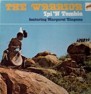 WARRIOR LP (VINYL ALBUM) FRENCH BARCLAY 1973