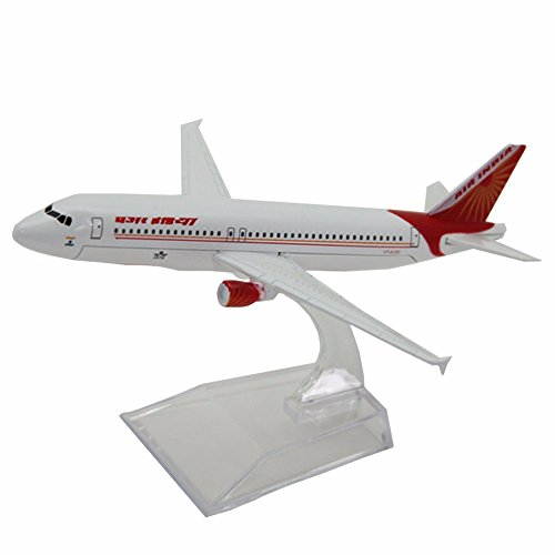 jiastone-16cm-india-airways-airbus-a320-1400-clip-together-model