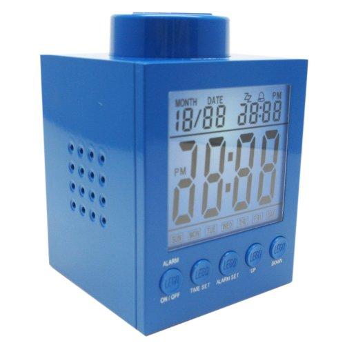 LEGO Clock Blue