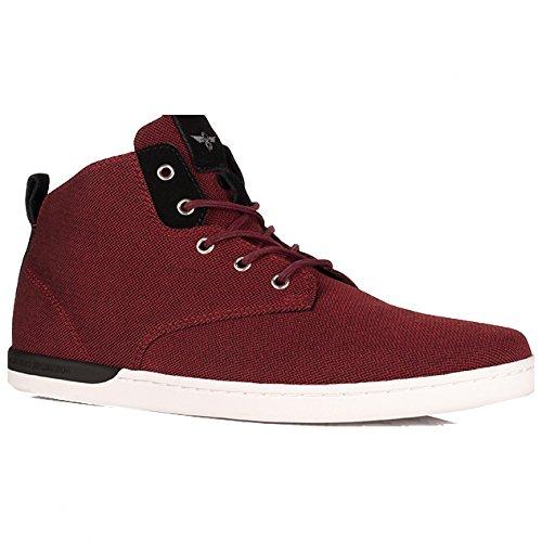 Creative Recreation Men's Vito Fashion Sneaker, Maroon Black, 10 M US